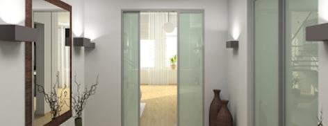 Trennwand glas glaswand glastrennwand - Trennwand glas wohnzimmer ...