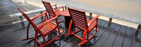 Schaukelstuhl aus holz peddingrohr rattan oder for Schaukelstuhl aus bambus